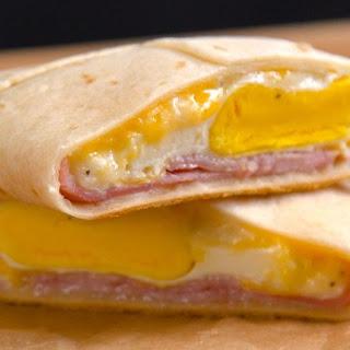 Ham & Cheese Breakfast Pockets.