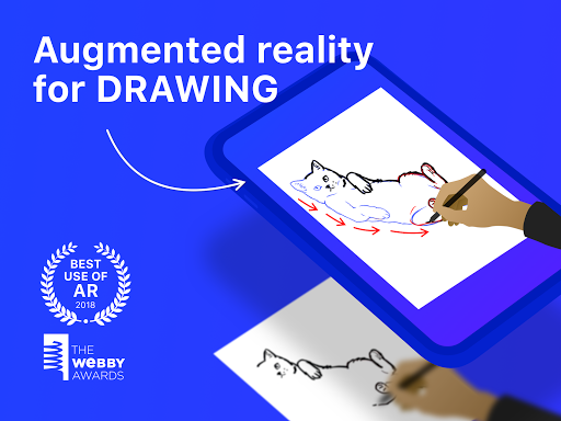 SketchAR: learn to draw step by step with AR 4.63-play screenshots 7