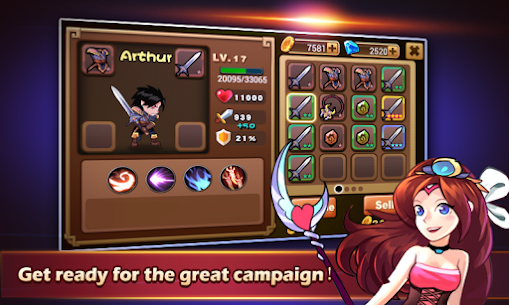 Brave Fighter MOD: Demon Revenge (Free Purchases) 8