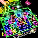 Thunder Neon Lights Keyboard Theme icon