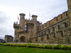 Photo: Etapa 22. Castillo de los Templarios. Ponferrada.