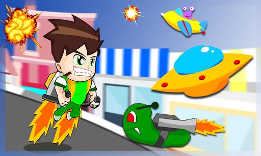 Ben Jetpack Joyfire Alien 1.0.1 screenshots 3