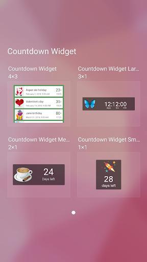 Countdown Widget screenshot 7