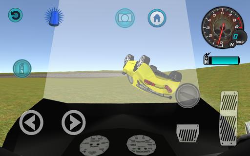 玩模擬App|警用摩托車特技3D免費|APP試玩
