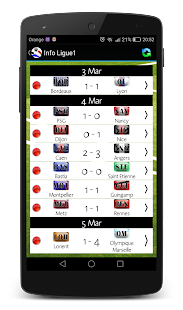 Info Ligue 1 - náhled