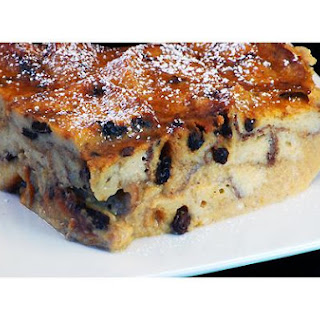 Pumpkin Raisin Bread Pudding
