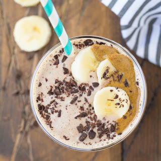 Cocoa Almond Protein Smoothie.