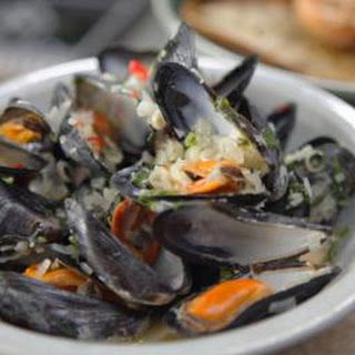 Lemongrass And Ginger Mussels.