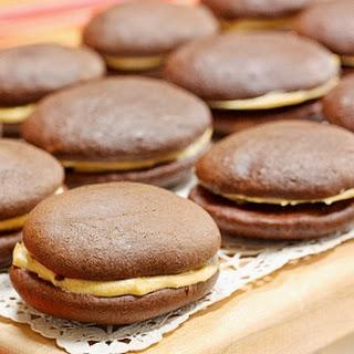 Chocolate Pumpkin Whoopie Pies Recipe