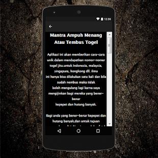 Mantra Menang Togel Ampuh - náhled