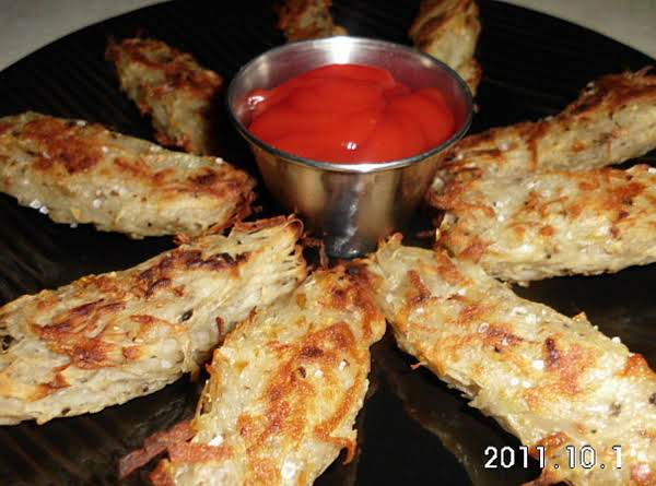 Oven Fried Potato Sticks Recipe