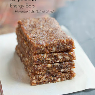 Gingerbread Lara Bar {Copy Cat Recipe}