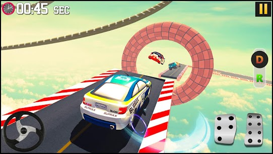 GT Racing Fancy Car Stunts : Insane Driving Tracks 2