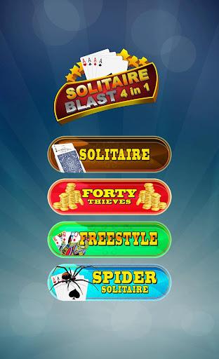 Solitaire Blast (4 in 1) 1.0 screenshots 1