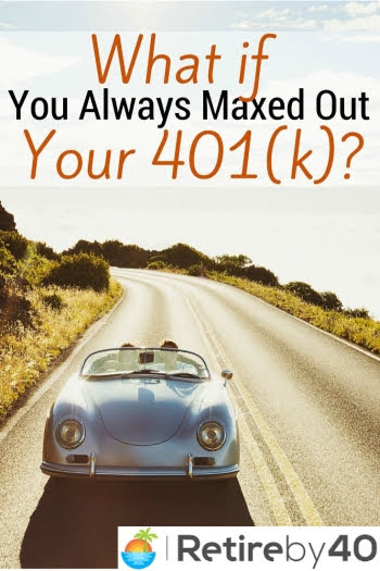 What if You Always Maxed Out Your 401(k)?