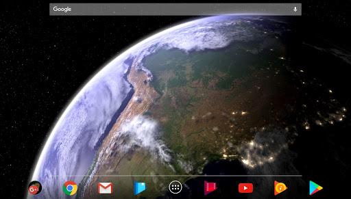 Earth & Moon in HD Gyro 3D Parallax Live Wallpaper 2.8 Screenshots 5