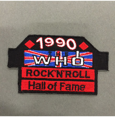 The Who - Rock N Roll Hall of Fame - Tygmärke