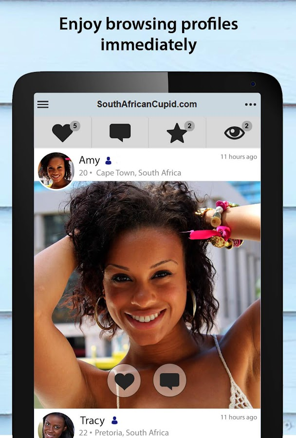 SouthAfricanCupid - South African Dating App- screenshot