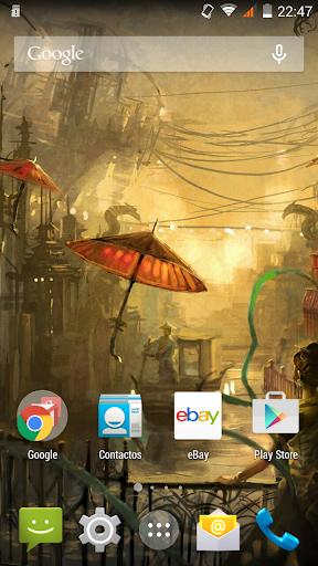 Steampunk City Wallpaper