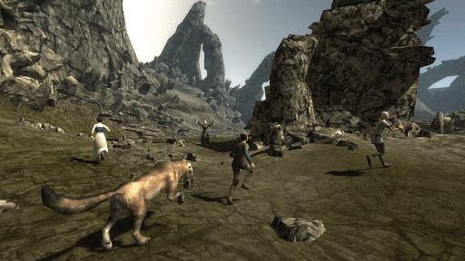 Dire Wolf Simulation 3D