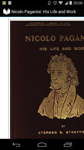 Nicolo Paganini: Life and Work