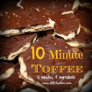 Ten Minute Toffee.