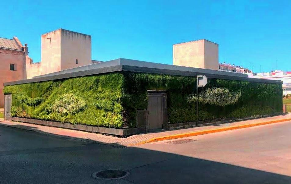 Jardín vertical de San Fernando de Henares