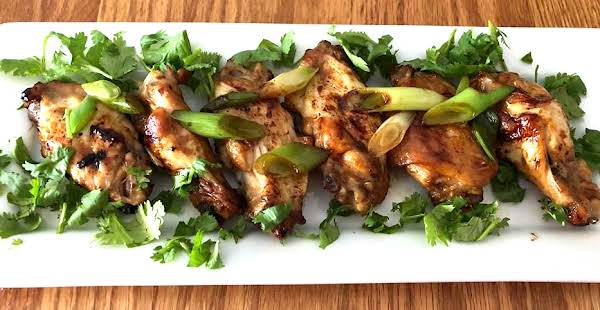 Taiwanese Three Cup Chicken Wings Recipe