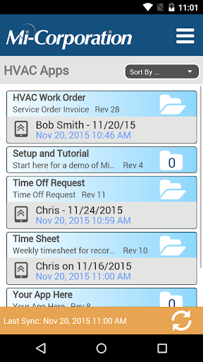 Mi-HVAC Apps