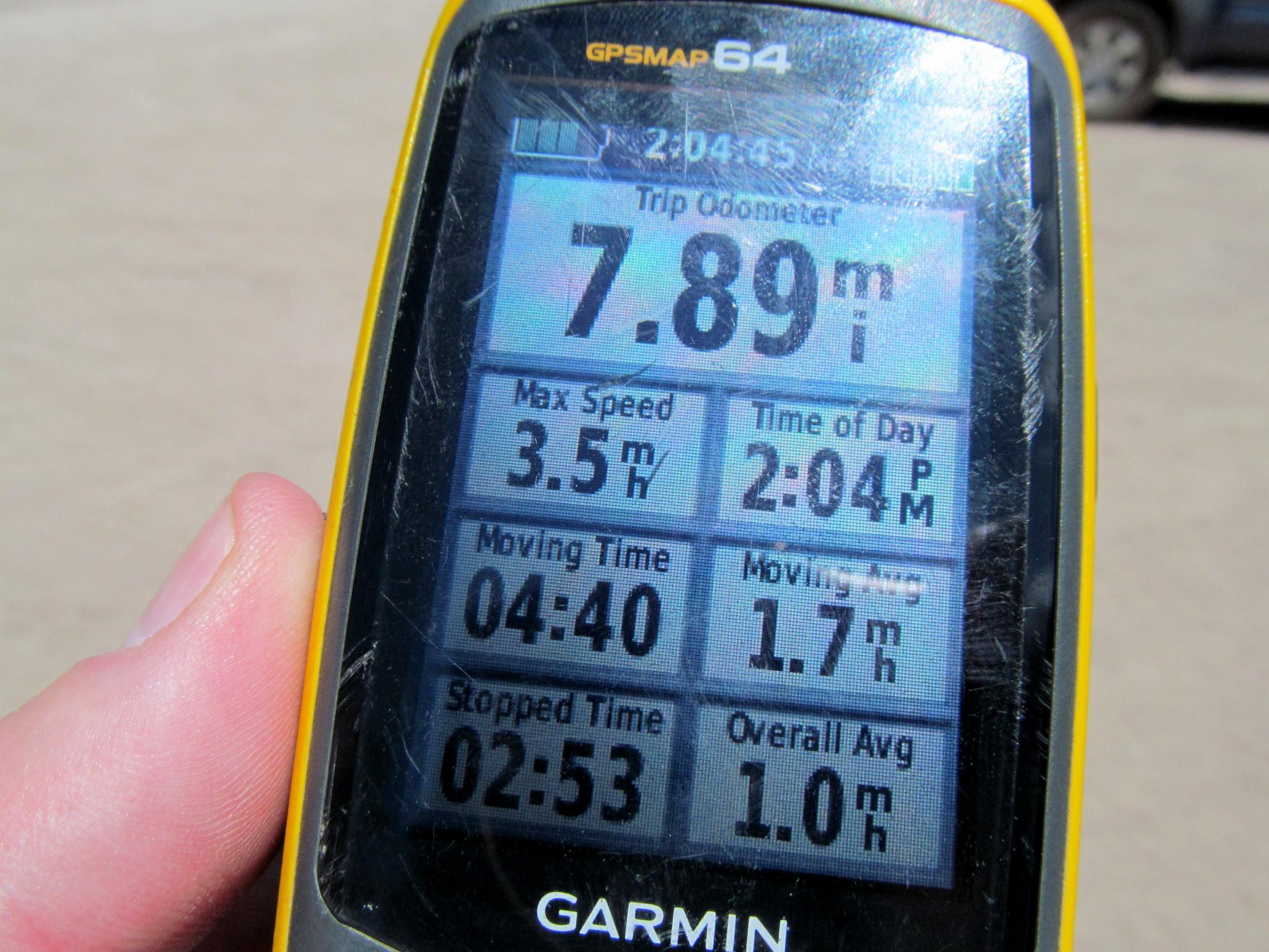 Photo: Hike stats