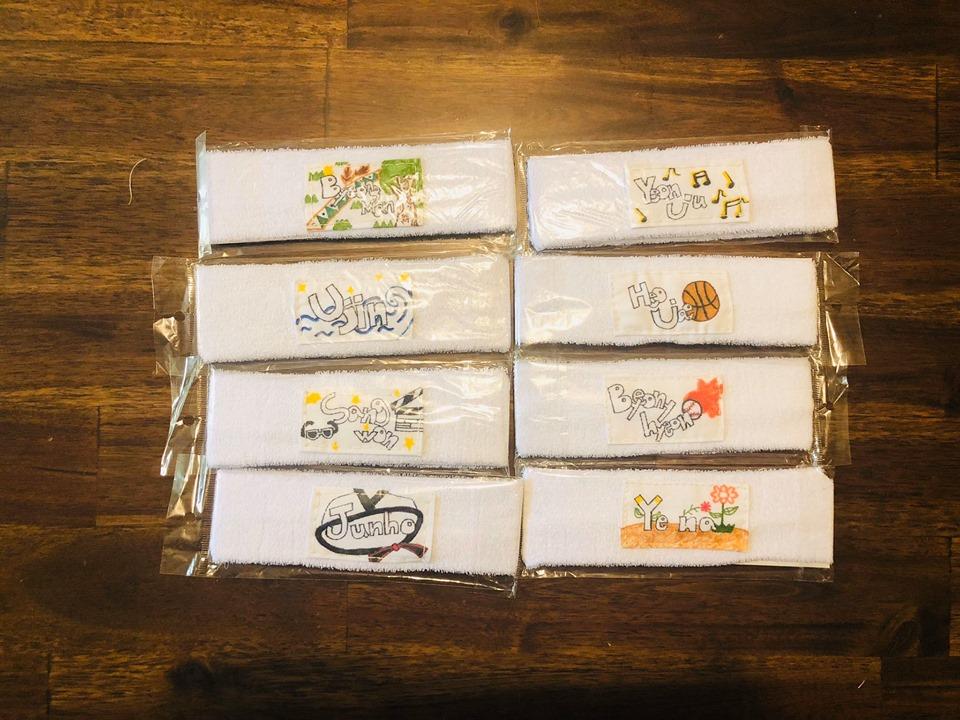 kim donghan headbands gift