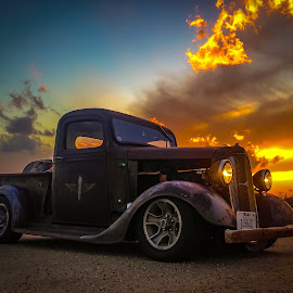 36 Chevy in the Sunset by Kevin Dietze - Instagram & Mobile Instagram ( #helirat )