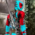 Superhero Sniper Shooter 3D:Free Gun Shooting Game icon