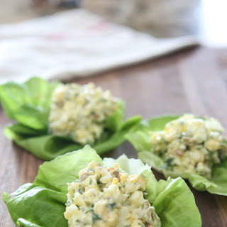 Egg Salad Lettuce Wraps