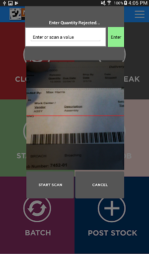 Screenshot for E2 MFG Employee DC in United States Play Store