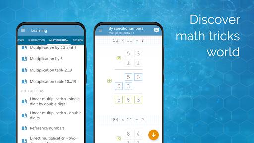 Math games: arithmetic, times tables, mental math screenshots 15