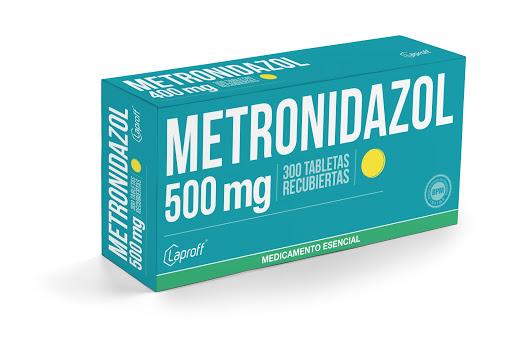 metronidazol 500mg blister 10tabletas laproff