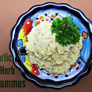 Garlic Herb Hummus Recipes