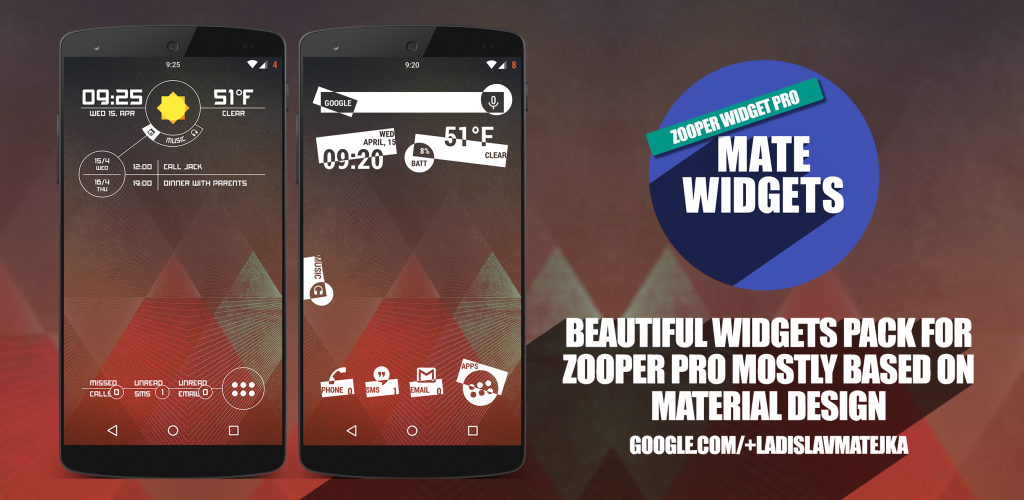 Download Mate Widgets for ZOOPER APK latest version 1 6 for android devices