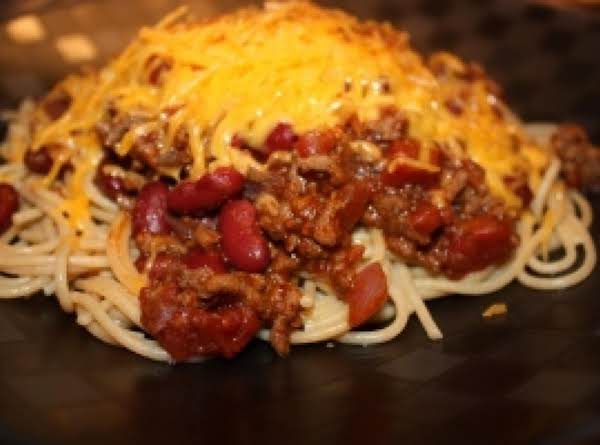 Spicy Mexican Spaghetti