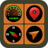 GPS Tools - Speedometer, Compass, Weather & More