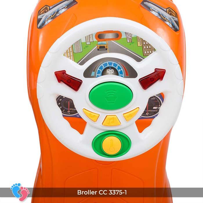 Xe ô tô chòi chân cho bé Broller CC-3375-1 có nhạc 15