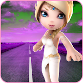 Princess Crossy Game Road Fun