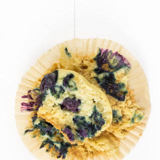 Healthy Blueberry Muffins (Gluten Free).