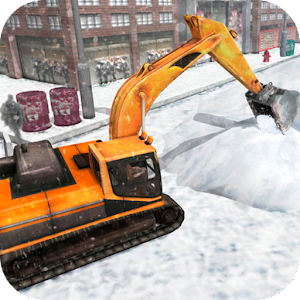 Heavy Snow Excavator Simulator