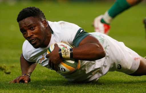 Lwazi Mvovo. Picture: REUTERS/MIKE HUTCHINGS
