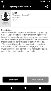 Legendary Fitness Miami - náhled