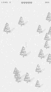 Super Angry Ski Pixel- screenshot thumbnail
