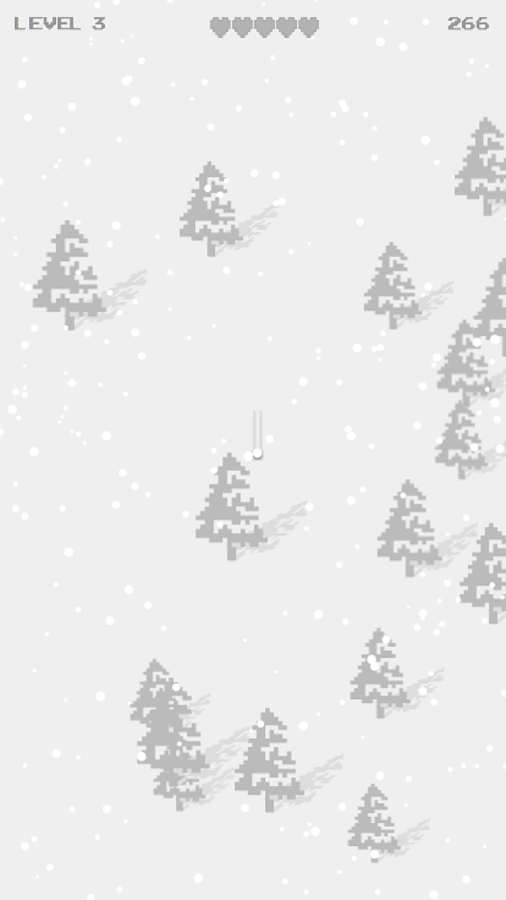Super Angry Ski Pixel- screenshot