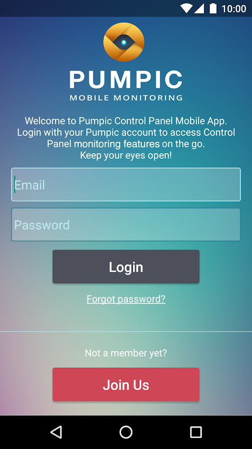 Pumpic Mobile Monitoring- screenshot
